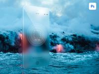 Phone Concept Mockup