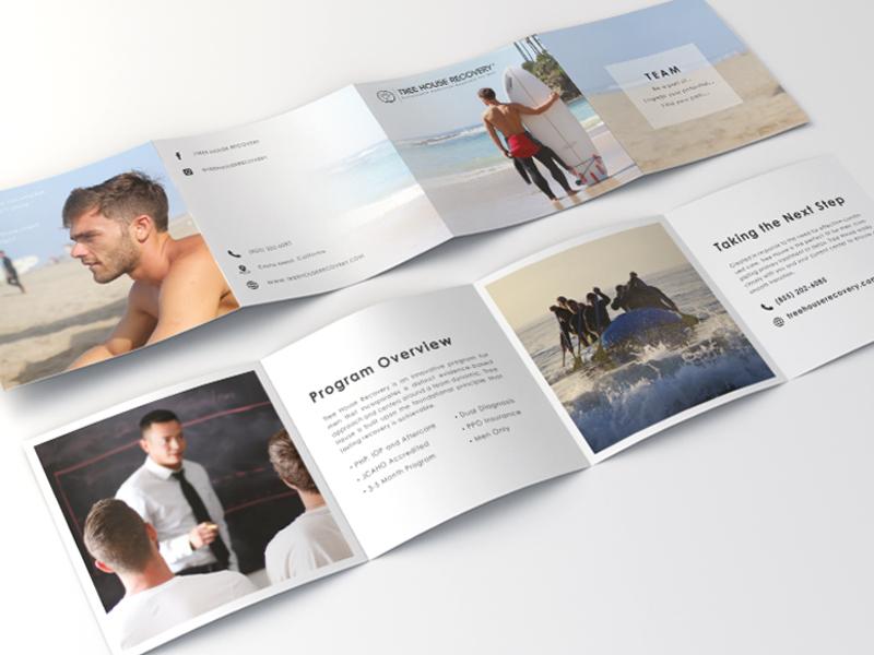square 4 fold brochure by brad bongar dribbble dribbble