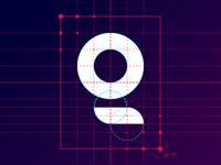 Logotype grid
