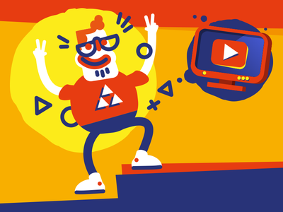 Popular Youtuber game broadcast famous youtube youtuber