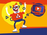 Popular Youtuber
