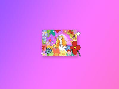 flower flower girl colorful illustration