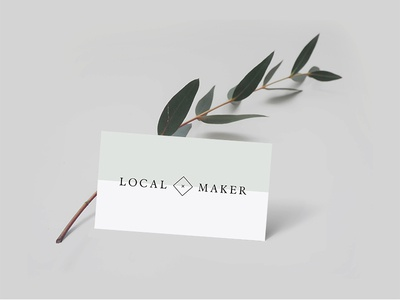 Local Maker Logo Concept