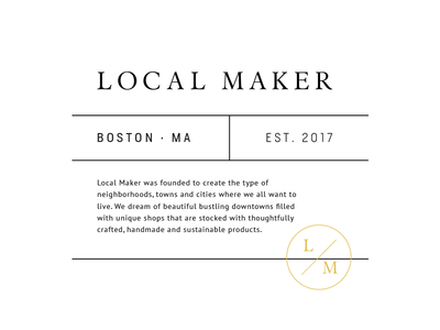 Local Maker Badge Concept