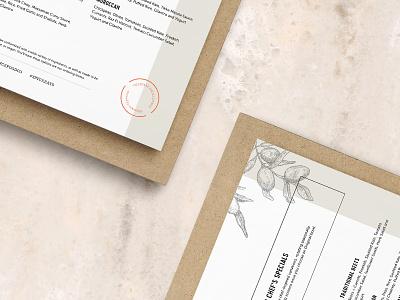 Spyce Menu Preview menu design food menus logo branding restaurant wip