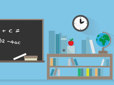 Everyday is a school day illustration website design website