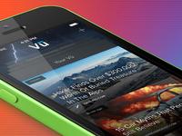Vu iOS7