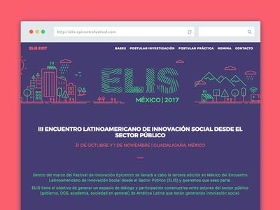 Landing page ELIS