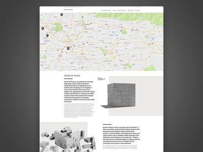 Sense Of Place - website