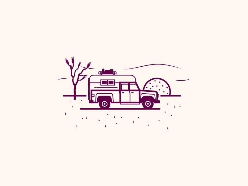 Overlanding rv campervan camping camper