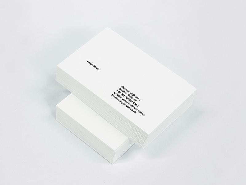 +wightman: Personal Branding print design identity branding graphic design