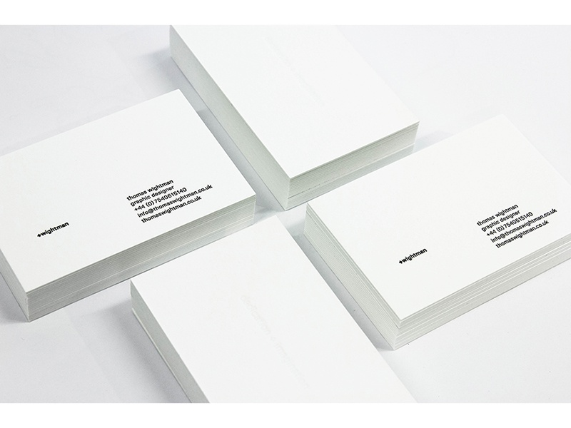 +wightman: Personal Branding identity branding print design graphic