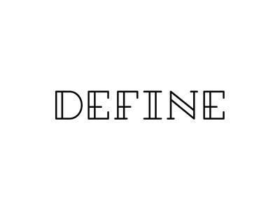 Define logo word art deco