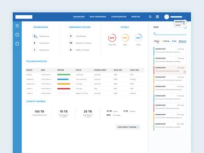 Dashboard UI web design web information design flat design ux ui dashboard