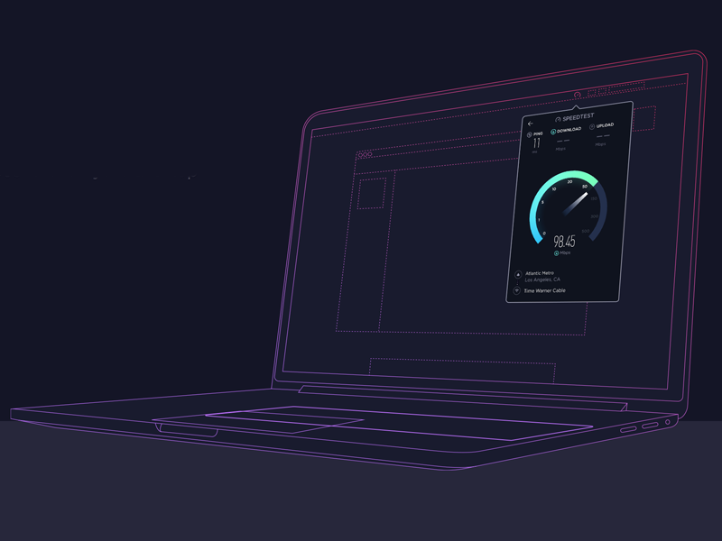 Speedtest For Mac by grayson smith on Dribbble