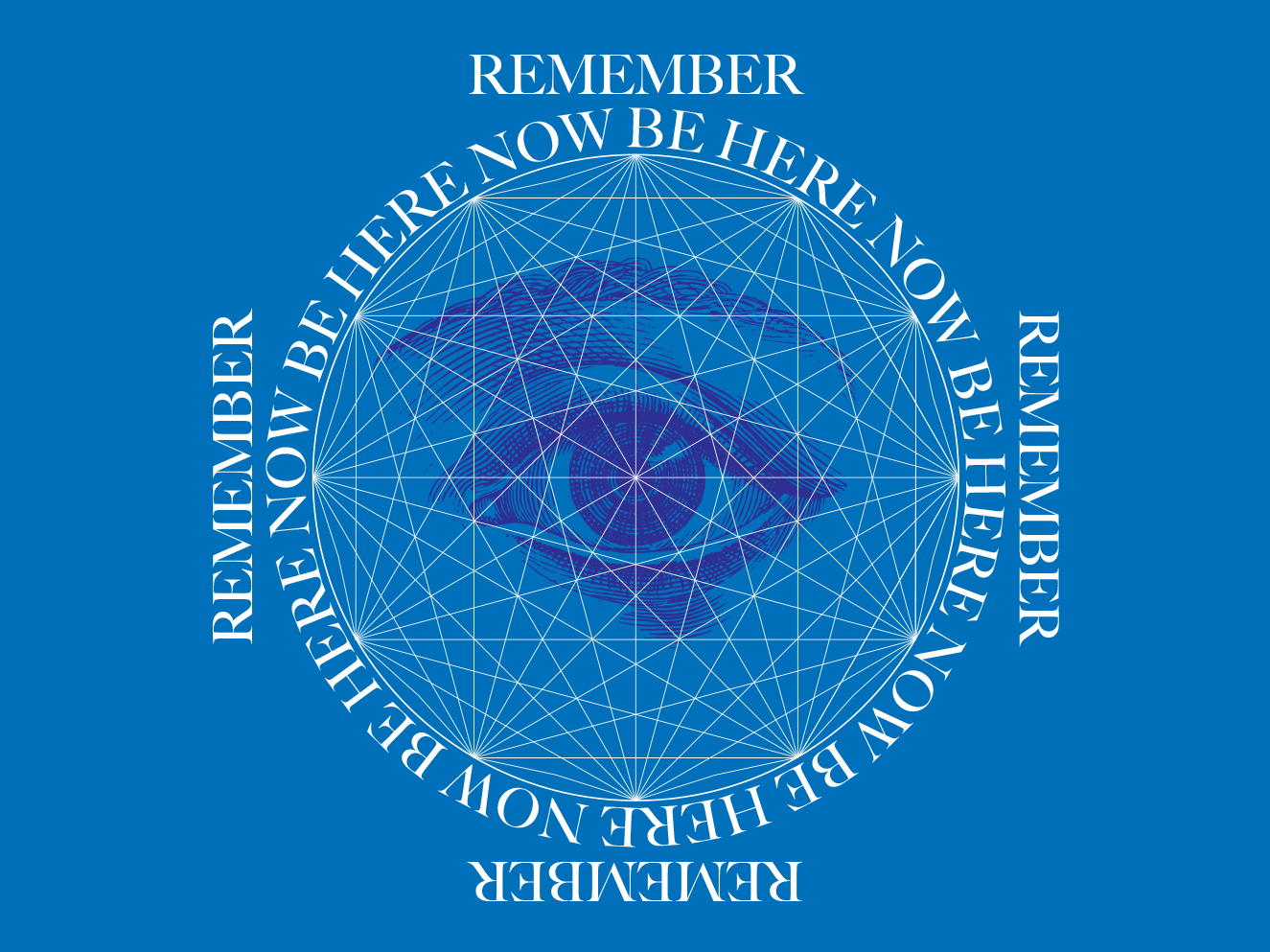 Be Here Now mandala ram dass