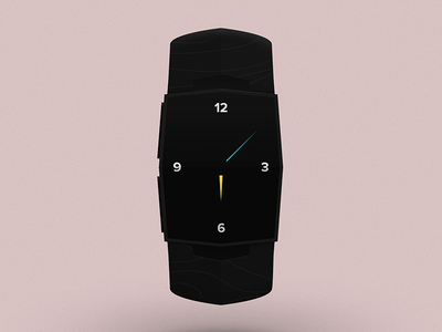 Eclipse Watch V2 watch product design watchface clock time digital