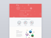 Aimy landing page