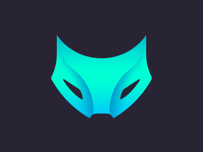 Gruppr Logo gruppr gaming videogame multiplayer logo logomark icon visual wolf fox animal