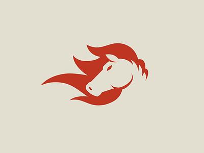 Horse Icon negative space icon horse illustration vector illustration