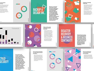 Data Health Check Brochure graphic design print patterns illustration data visulization data brochure typography