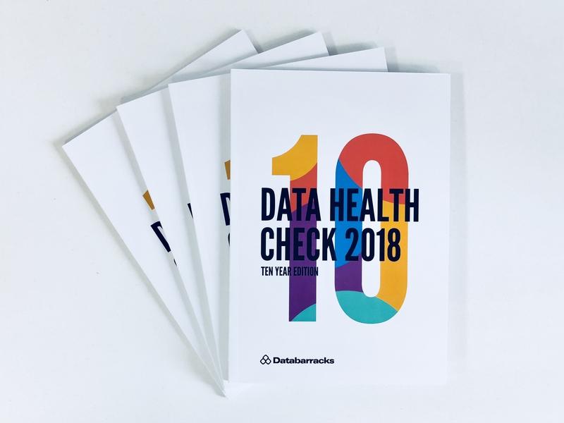 Data Health Check Brochure data visualization print data brochure illustration design