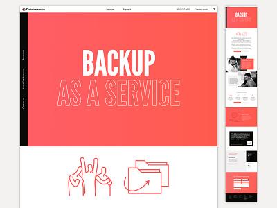 Databarracks Website website branding brand identity design illustration