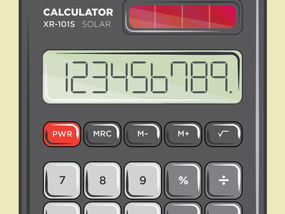 Calculator calculator number buttons math