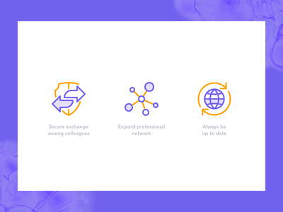 Pharmaceutical Community Icons pharmacy community network purple icons illustrator exchange updated member platform medicine illness cell atom icon design cool berlin pharmaceutical