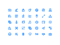 Icon set Industry 4.0