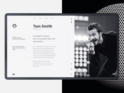 Online Radio Beats 1. Design Concept.