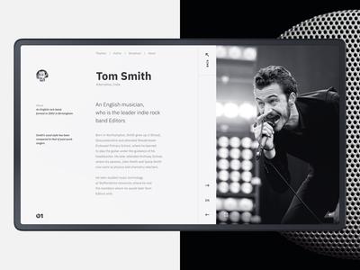 Online Radio Beats 1. Design Concept.