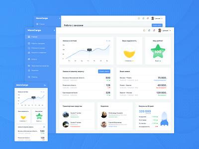 MoreCargo app design дизайн сайта web design ux ui
