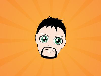 I'm illustration vector identity icon illustration
