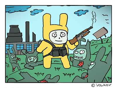 Rabbit Foot -  illustration comics art illustration
