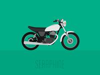 Yamaha SR500 • Poster