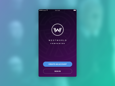 SignUp – Daily UI challenge #001 signup app westworld ui dailyui