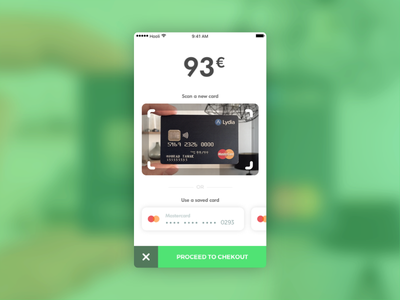 Credit Card Checkout – Daily UI challenge #002 credit card checkout payment dailyui app