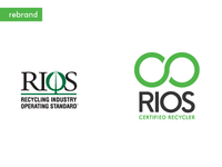 Electronic Recycling Company Series Logo Redesign