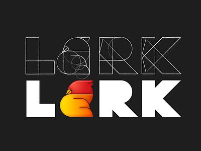 Lark logo design bird logo work in progress illustrator illustration logo logo design