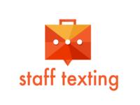 Staff Texting logo
