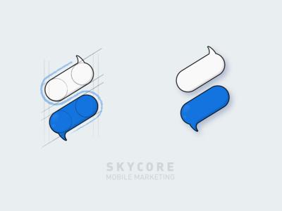 Skycore Logo Design