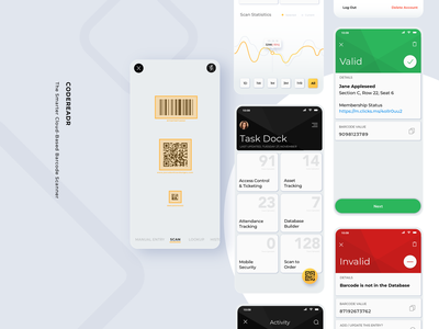 The Smarter Barcode Scanning App - codeREADr