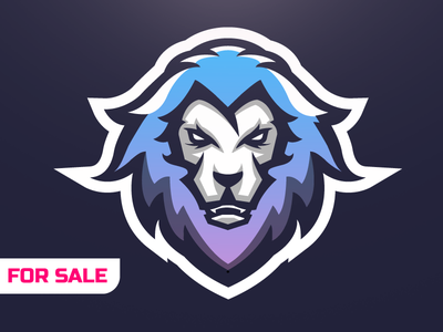 Lion Logo / Illustration / Mascot forsale mascot youtube shard esportslogo logo sports esports lion