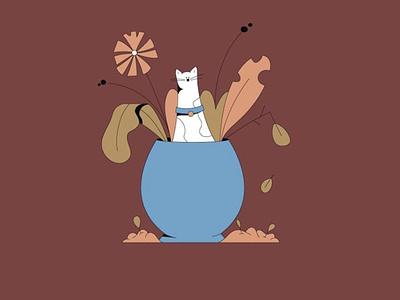 Meow Meow colors animal animated gif meow character animation 2d fun characteranimation characterdesign animation illustration