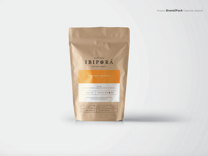 Coffee Packaging - Ibiporá Brazil classic pack brazil coffee design packaging