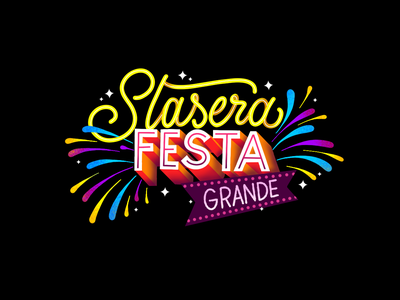STASERA FESTA GRANDE apple pencil apple ipadpro procreate art procreate app procreate fireworks party hard festa party snapchat filter snapchat