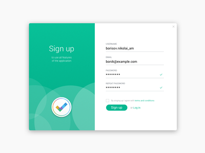 #Daily UI #001 - Sign Up challenge signup dailyui 001
