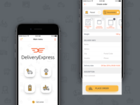 App Delivery of goods