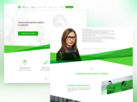 Landing page for a psychologist